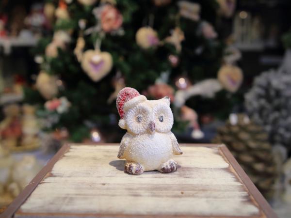 Malá keramická sova