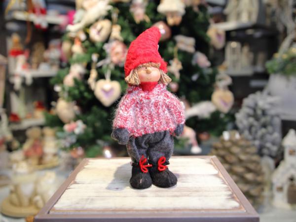 Keramická vianočná postavička