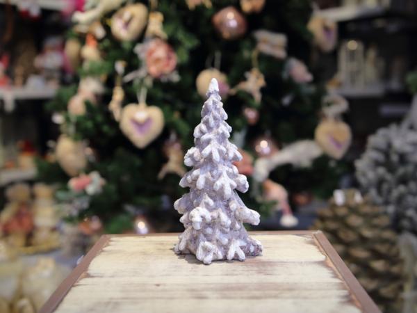Hnedý keramický stromček