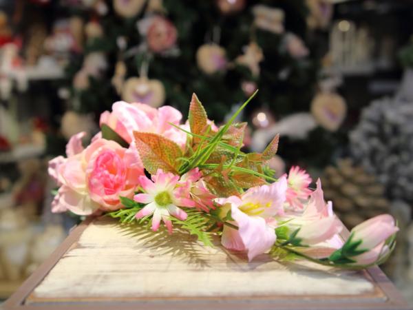 Umelá kytica-ruža,lalia